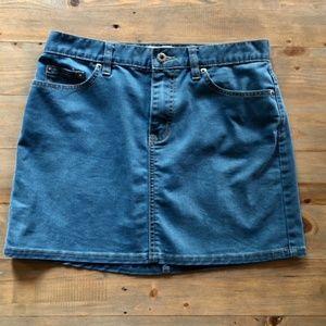 GAP JEANS Size 6 Denim Mini Skirt EUC